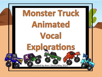 Monster Trucks Animated Vocal Explorations