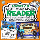 Guided Reading: Level B Monster Truck Sight Word Readers a