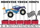Monster Trucks Counting Puzzles