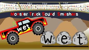Monster Trucks Sound  Smasher CVC Game