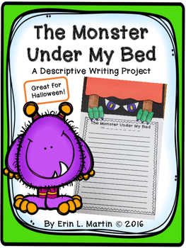 Monster Under My Bed - Descriptive Writing Project