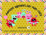 Monster Valentine's Day Bash Math Concept Review