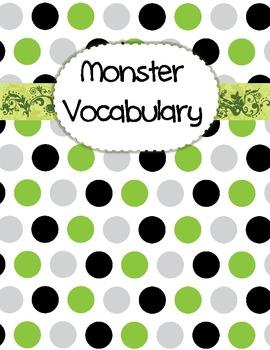 Monster Vocabulary