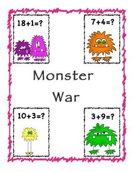 Monster Addition War