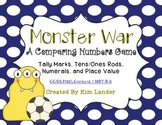 Monster War (Comparing Numbers) FREEBIE!!  Common Core Aligned