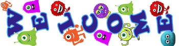 Monster Welcome banner