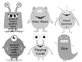 Monster Wish Cards