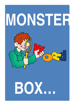 Monster Word Box