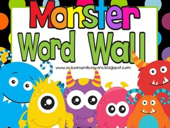Monster Word Wall