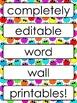 FREE Monster Word Wall Classroom Essentials {Summer Celebration}
