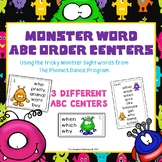 Monster Sight Words ABC Center - The Phonics Dance