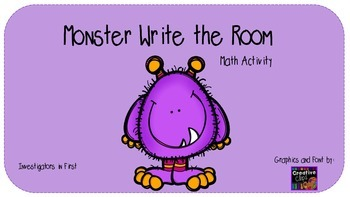Monster Write the Room