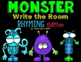 Monster Write the Room - Rhyming Edition