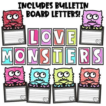 Monster Writing Craft (Editable Monster Craftivity)