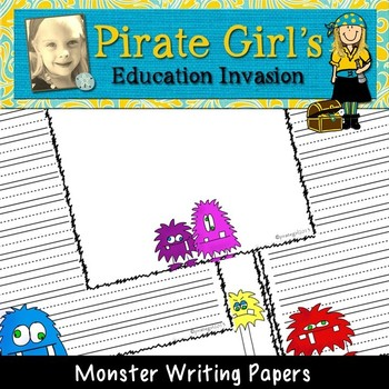 Monster Writing Papers