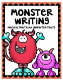 Monster Writing Physical Traits and Character Traits