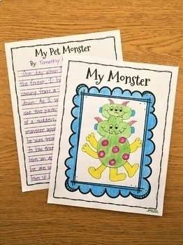 Monster Writing Prompts