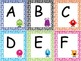 Monster Yikes Letter and Number ID game
