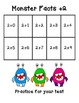 Monster addition and subtraction facts practice and assessment