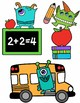 Monster and Back to School Clipart Bundle