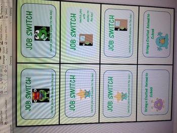 Monster award cards