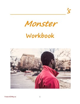 Monster by Walter Dean Myers: ALL Materials Bundled