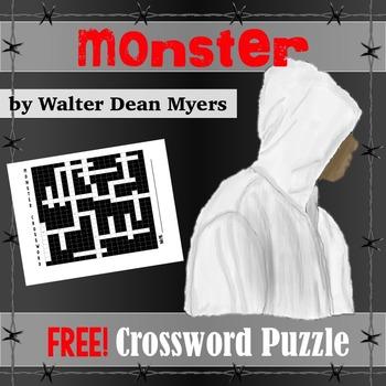 Monster (Walter Dean Myers) Crossword Puzzle