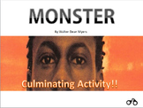 Monster by Walter Dean Myers - Fun Creative Tasks / Scrapb