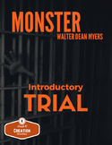 Monster by Walter Dean Myers Introduction Trial Activity