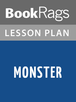 Monster by Walter Dean Myers Lesson Plans