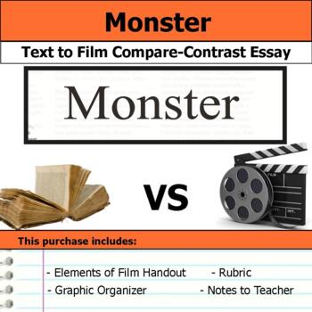 Monster By Walter Dean Myers  Text To Film Essay By S J Brull  Tpt Monster By Walter Dean Myers  Text To Film Essay Marriage Essay Papers also Business Plan Help Ireland  Assignment Writers Uk