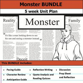 Monster by Walter Dean Myers Unit