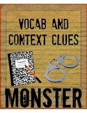 Monster by Walter Dean Myers Vocabulary and Context Clues