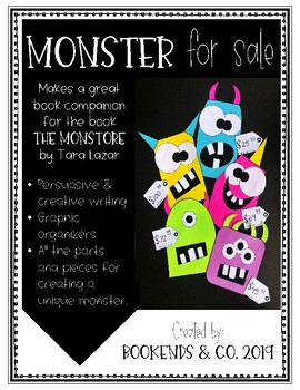 Monster for Sale - Persuasive & Creative Writing