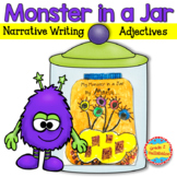 Monster in a Jar - Writing, Adjectives & Fun Craftivity