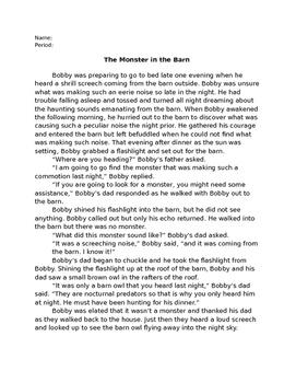 Monster in the Barn