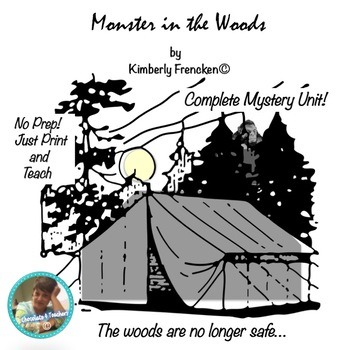 Monster in the Woods: Fiction Mini Unit with Printables & Task Cards