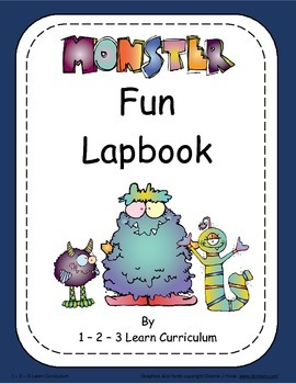Monster lapbook