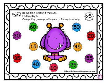 Monster multiplication roll and cover