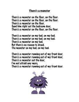 Monster poem