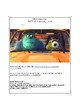 """Monster's Inc """"Mike's New Car"""" RAFTS Assignment"""
