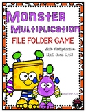 Multiplication File Folder Game 12 Times Tables Facts