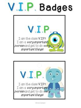 Monster's University VIP Desk Set