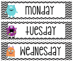 Monster theme drawer labels