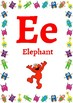Classroom Decor-Monster themed Alphabet