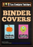 Monster themed binder covers
