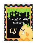 Monster themed classroom center binder cover
