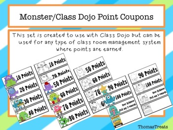 Monster/Class Dojo Point Coupons