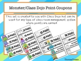 Monster/Class Dojo Point Coupons