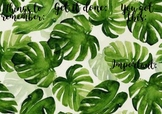 Monstera Mac Desktop Background with Headings